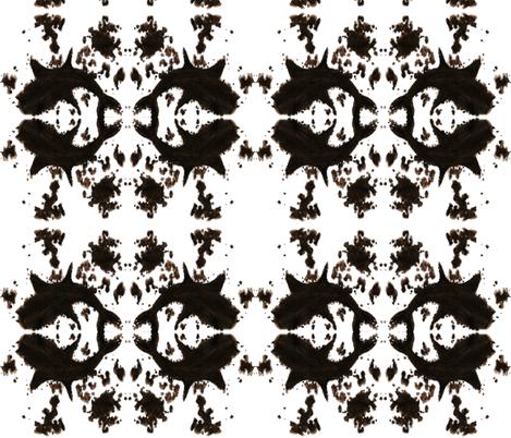 Rorshark Rotated fabric by interrobangart on Spoonflower - custom fabric