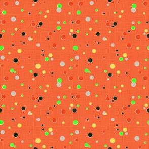 Colibri&Brugmansia (Dots)