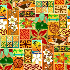 Hawaiian motif 004
