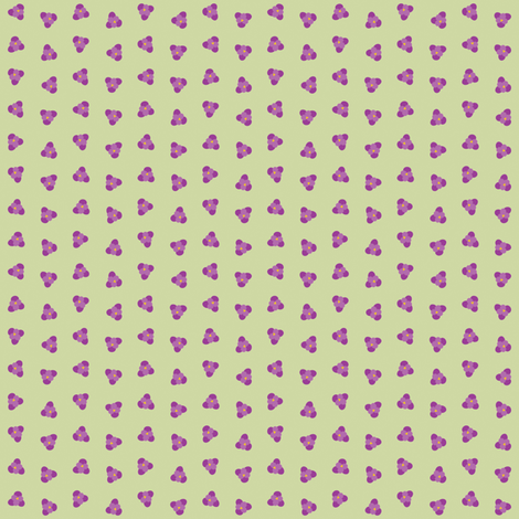 First Crocus of Spring fabric by anniecdesigns on Spoonflower - custom fabric