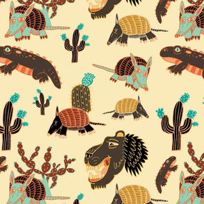 Sandy Animals Design