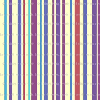Lena: Small Subdued Stripe