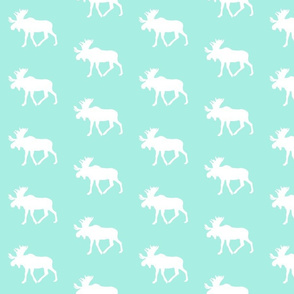 Moose // Glacier Woods (misty teal)
