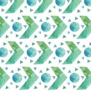 SpoonChallenge Geometric Watercolour 2