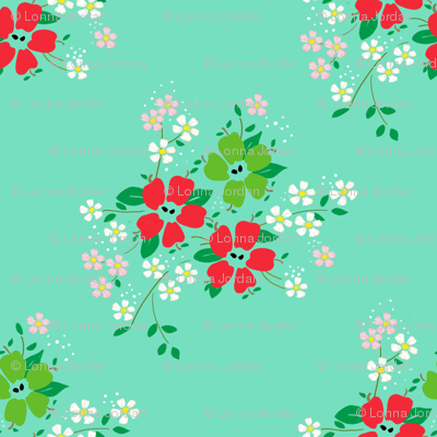 apple-blossoms-mint-green