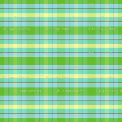 apple-green-plaid