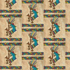 Kokopelli With Border