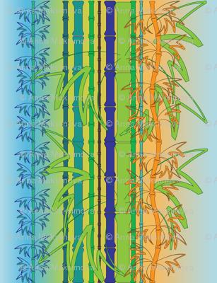 bamboo blue-green