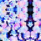 Small geometric Aztec triangles