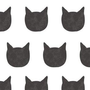 cat pattern - black