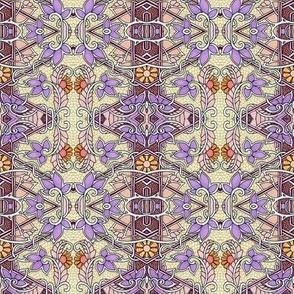 Perky Violet Spring