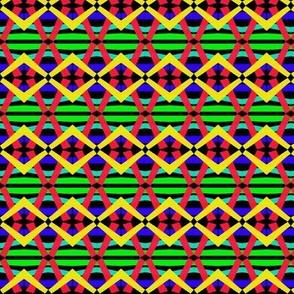 Playtime Diamonds Stripes