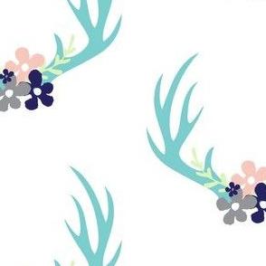 antlers_floral