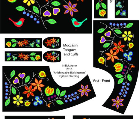 OjibweClothing fabric by biskakone on Spoonflower - custom fabric