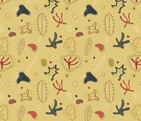 mid-century_modern_kitchen fabric by alphabetsoup on Spoonflower - custom fabric