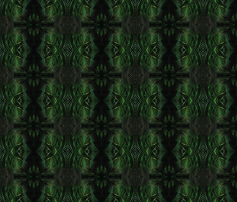 City Museum emerald fabric by rhymeswithfinesse on Spoonflower - custom fabric