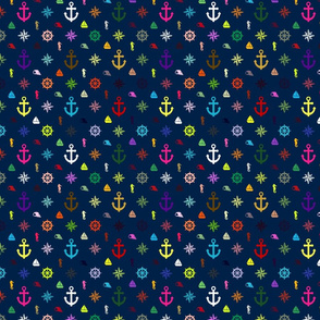 Nautical Multicolor Array