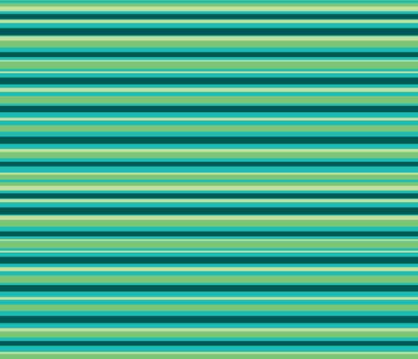 Leafy Stripes fabric by argenti on Spoonflower - custom fabric