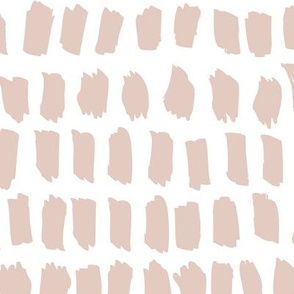 Strokes and stripes abstract scandinavian style brush design gender neutral beige