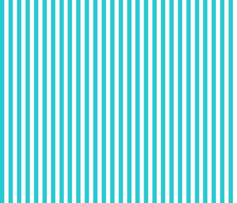 Pinstripes Teal: Quarter Inch fabric by littlelionworkshop on Spoonflower - custom fabric