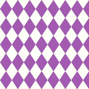 Harlequin Diamond Purple