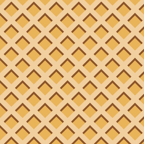 "2"" Ice Cream Waffle Cone"