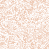 Blush Sprigs and Blooms Coordinating Lace 1