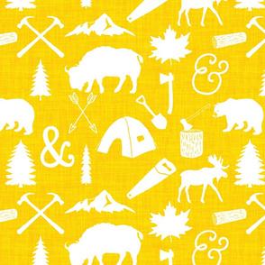 The Woodcutter // Yellow Linen