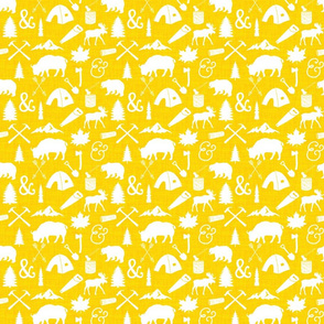 The Woodcutter // Yellow Linen // Small