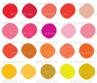 Warm Swatching Dots