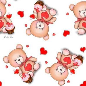 Teddy Bear White M