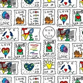 Danita's Postage Stamps ~ With Color