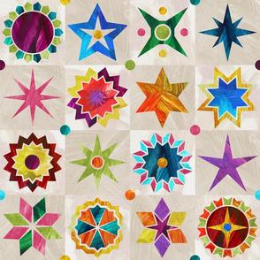 A Starry Quick Quilt