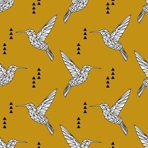 Geometric hummingbird // myan