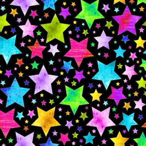 STARS Electric Grunge black