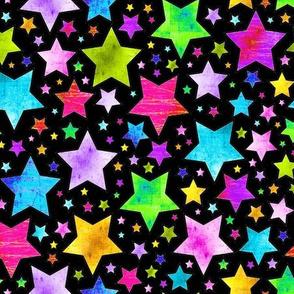 STARS Electric Grunge black