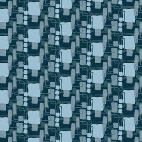 Shades of Blue Squares_Miss Chiff Designs