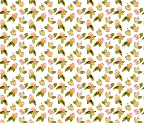 Cora fabric by ivieclothco on Spoonflower - custom fabric
