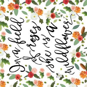 Wildflower Blanket // Petals and Pine // Vertical
