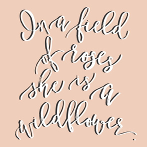 Wildflower Lovey // Blush