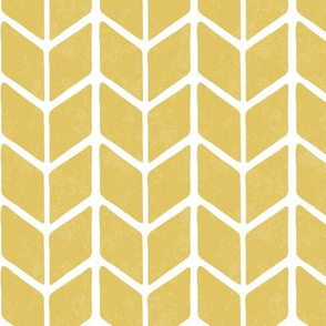 chevron book - cream gold