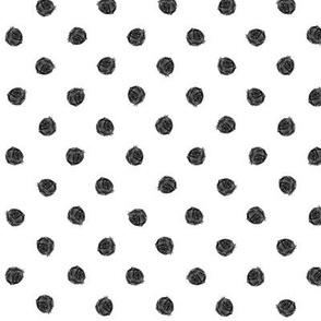 polka dot black