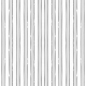 Grey French Ticking French Stripe Gray