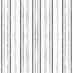 Grey French Ticking French Stripe Gray