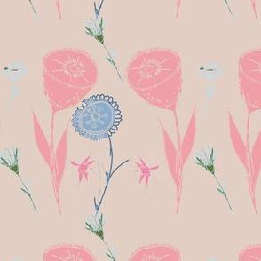 """Dancing Flower series - 6"""""""
