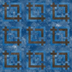 Fill A Yard Carpenters Square 6in Blue Brown