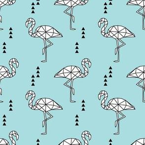Geometric Flamingo // lake