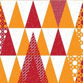 Triangles minimal pattern.