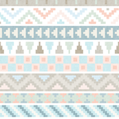 Pastel Tribal Pattern