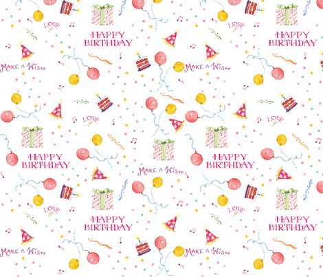 Party Time fabric by susanbranch on Spoonflower - custom fabric